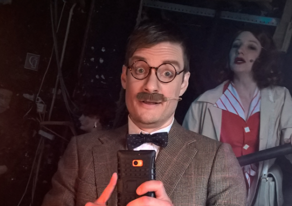 """Lord Evelyn Oakleigh in """"Anything Goes"""""""