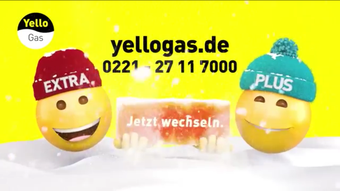 Yello Gas TV-Spot 'Schnee' Winter 2016