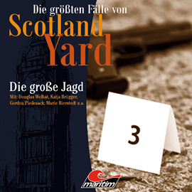 """Die größten Fälle von Scotland Yard"": Actor in an audio play series"