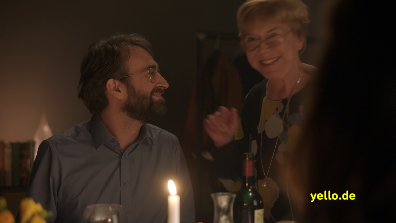 "yello TV-Spot ""Erwarte mehr"": Dinner Langversion"