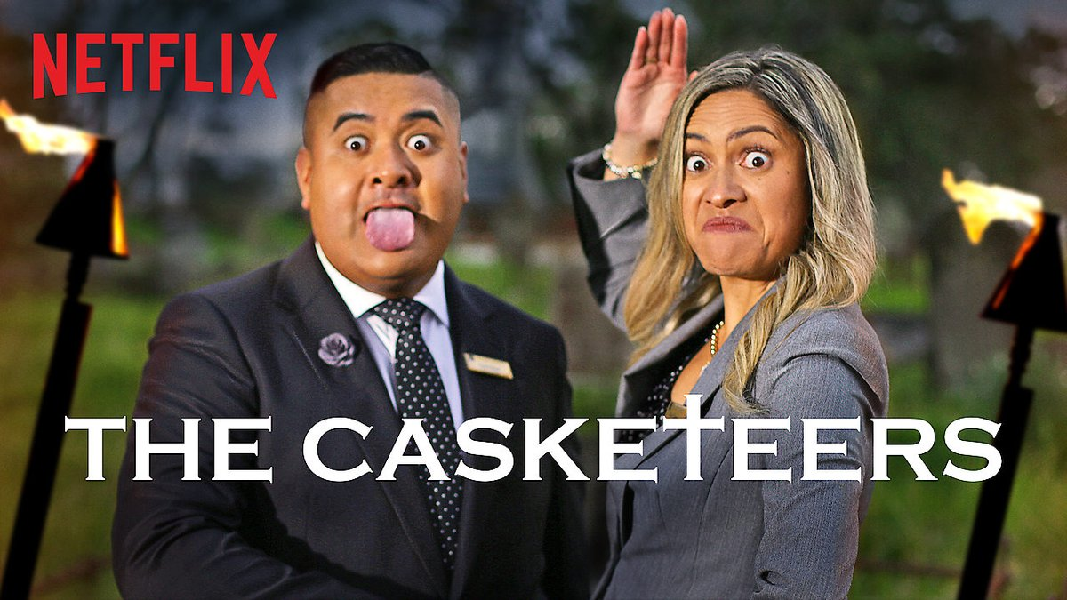 "Voice over on the Netflix-show ""The Casketeers"""