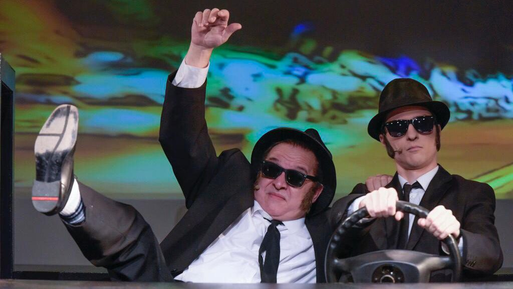 """Performance Dates in """"The Blues Brothers"""" in 2019"""