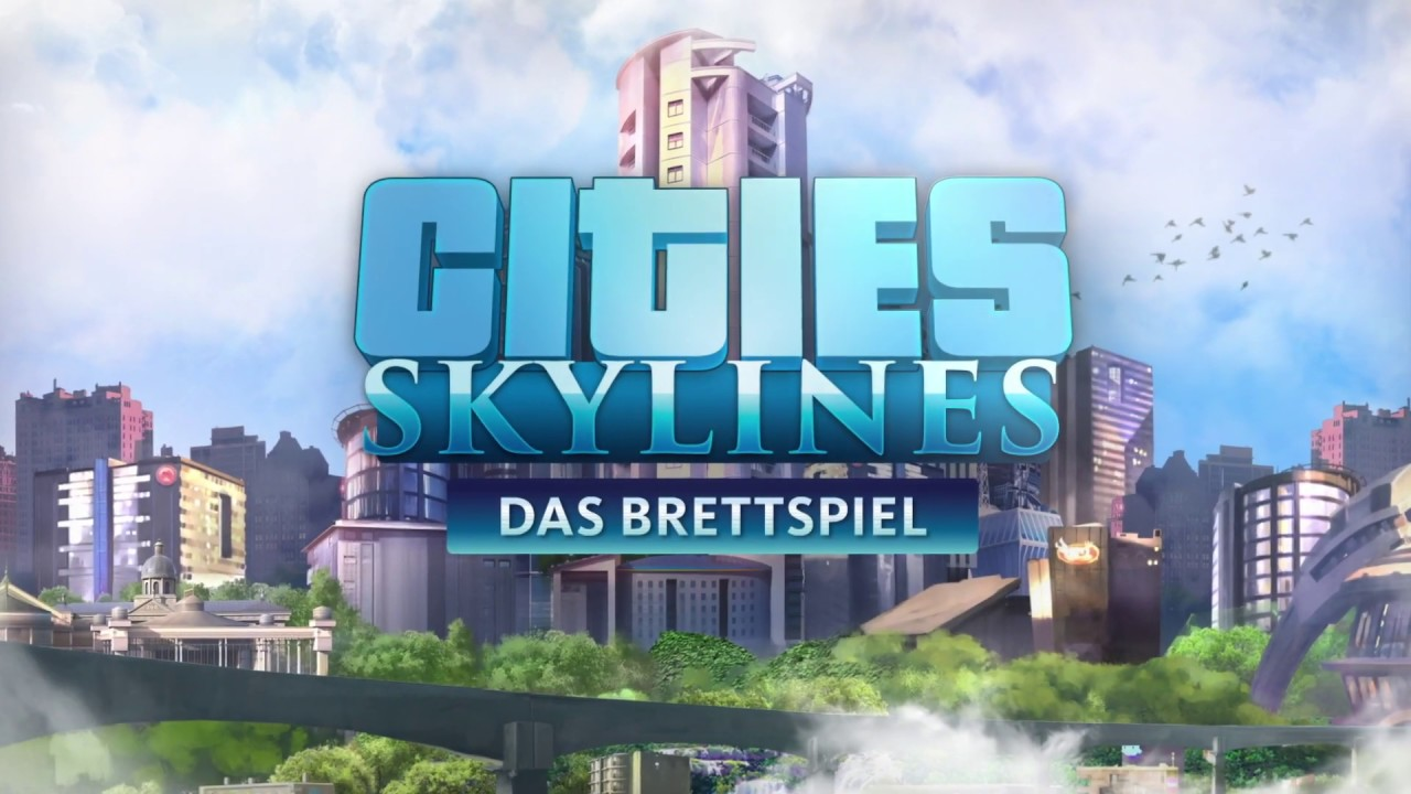 "KOSMOS ""Cities: Skylines"" – The board game – game trailer"